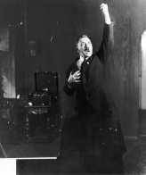 Hitler rehearsing his public speeches in front of the mirror 13