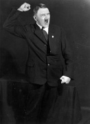 Hitler rehearsing his public speeches in front of the mirror 2